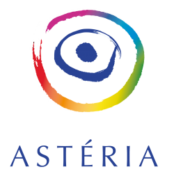 Logo Astéria blanc grand
